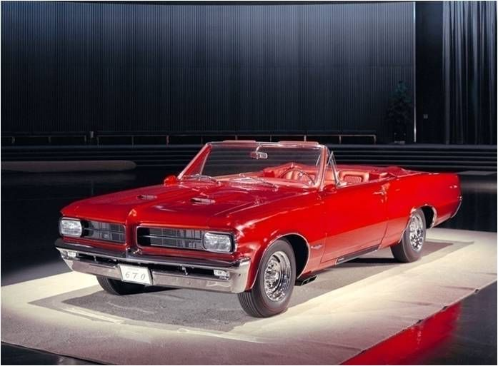 """YES this is art! 1964 Pontiac Tempest LeMans GTO Show Car called the """"Flamme"""""""