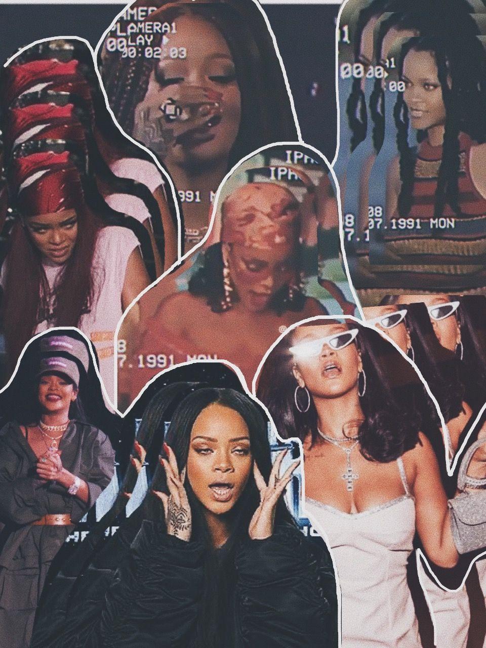 Edit Of Badgalriri Bad Girl Aesthetic Bad Girl Wallpaper Black Girl Aesthetic