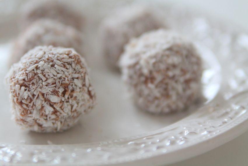 chokladbollar med oboy