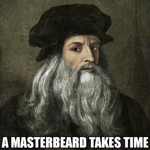 Pin by GROW A BEARD on Beard Memes | Leonardo da vinci, Da ...