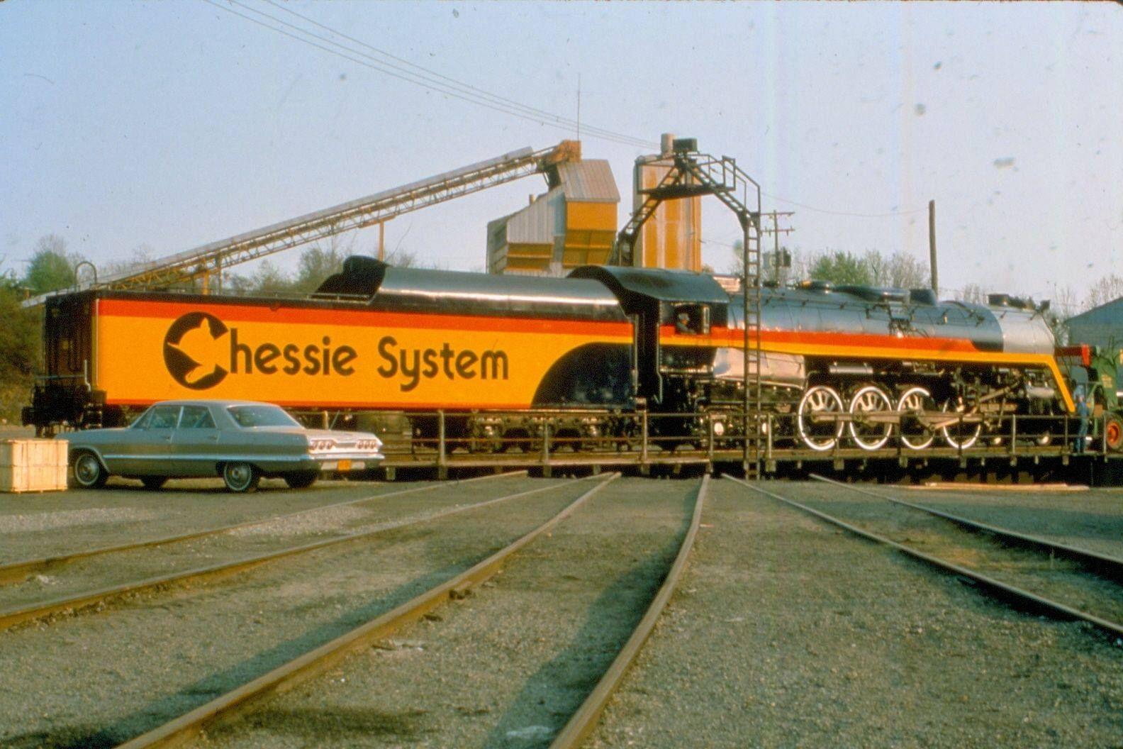 Chessie System Ex Reading Rr T 1 Steam Bethlehem Pa