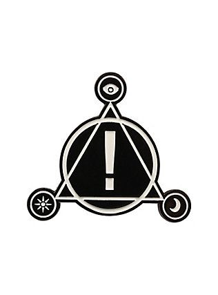 683fcce79 Panic! At The Disco Symbol Enamel Pin, | Iron On Patches & Lapel ...