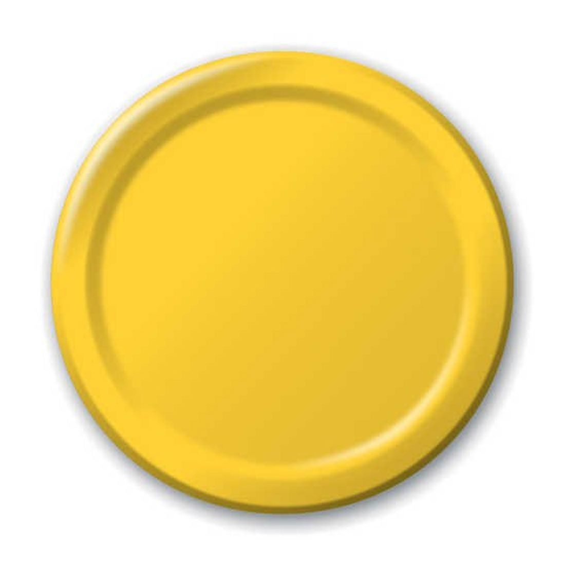 9 inch Round Dinner Plates Big Value School Bus Yellow/Case of 900  sc 1 st  Pinterest : elegantware dinner plates - Pezcame.Com