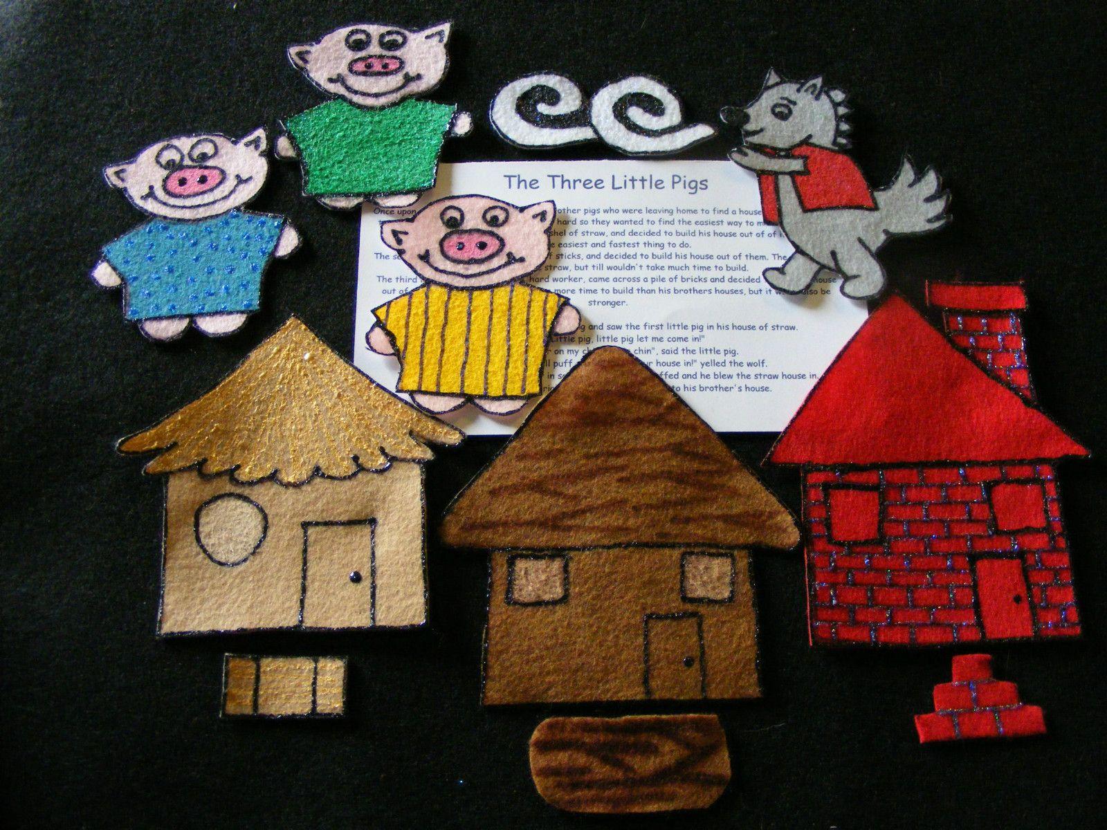 The Three 3 Little Pigs