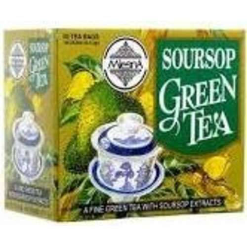 Mlesna Sour Sop green tea Soursop is also known as Miracle fruit - why sop is used