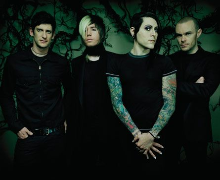 AFI, the first punk band I reallllly got into:)