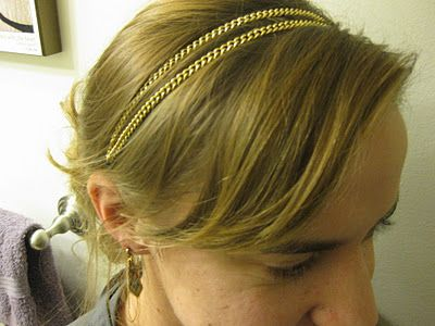 Would I Wear Diy Fashion Accessories Chain Headband Elastic Headbands