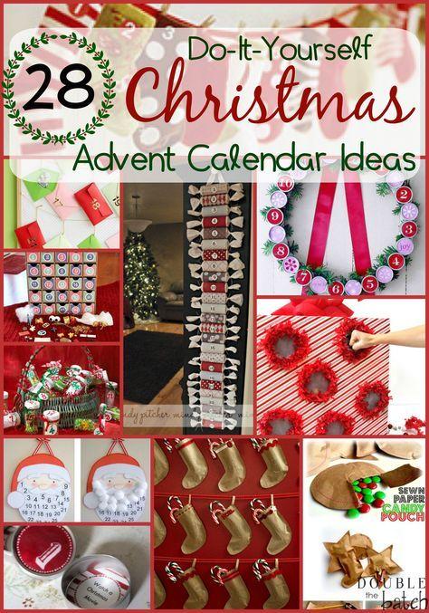 Diy christmas advent calendar ideas solutioingenieria Gallery