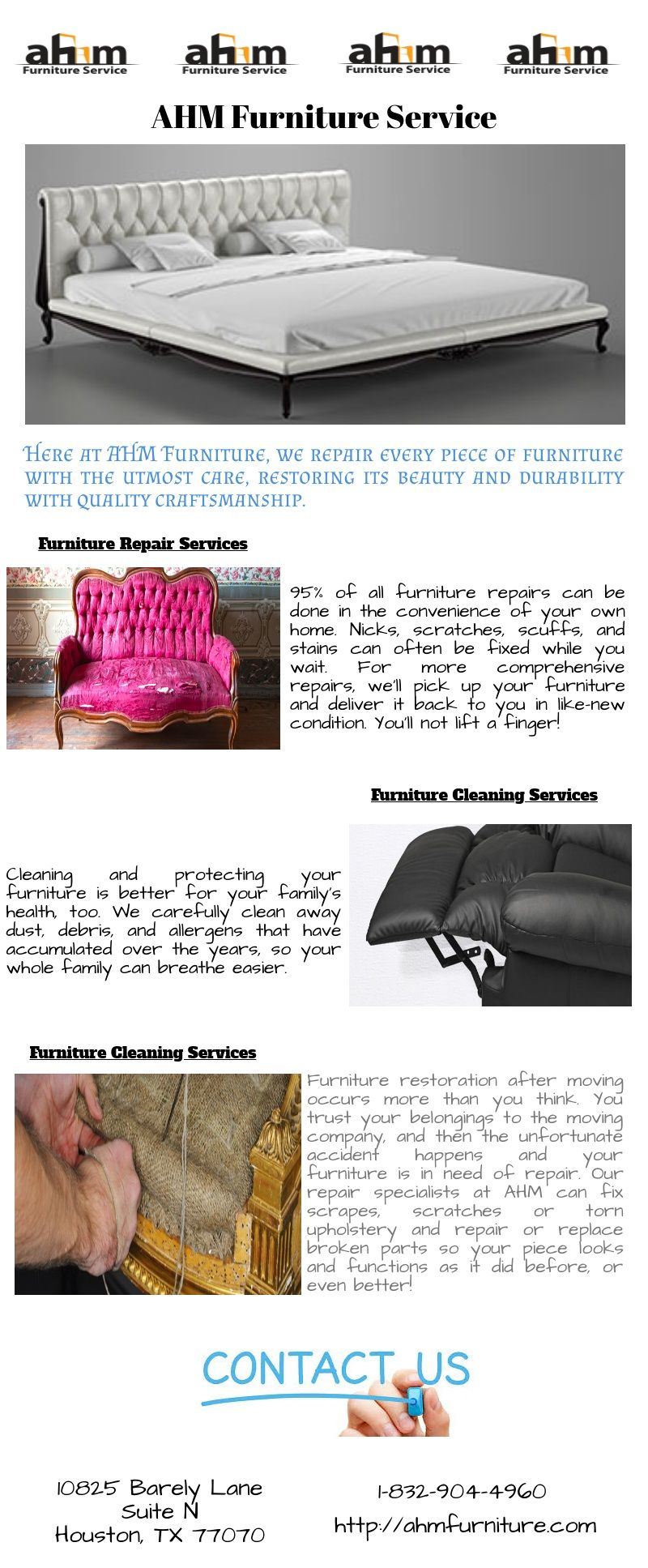 Furniture Repair Services Houston Furniture Restoration After Moving Occurs  More Than You Think. You Trust