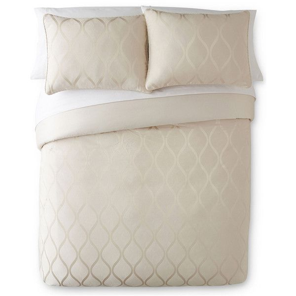 Liz Claiborne Cream Bliss 4-pc. Jacquard Comforter Set ...
