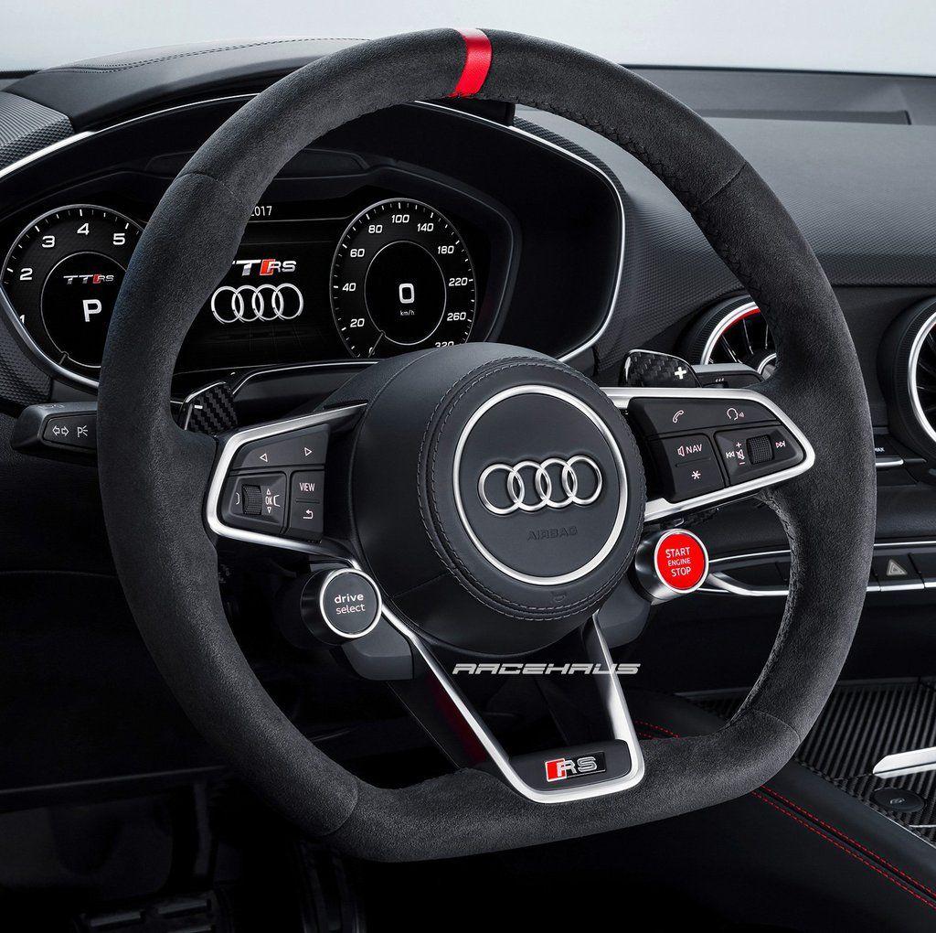 Audi Steering Wheel Retrofit Module #audivehicles