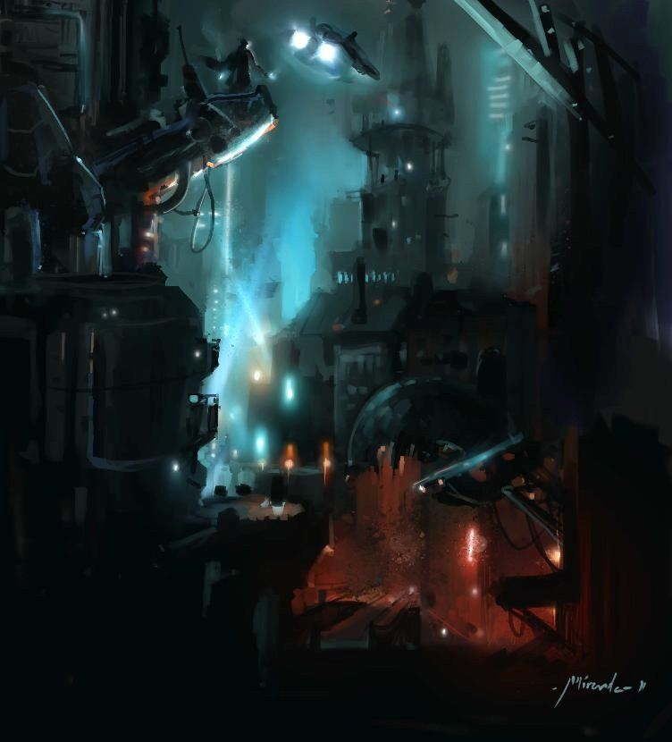 Future City concept by ~TheShock on deviantART