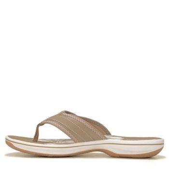 Clarks Women's Breeze Mila Sandals (Greystone) - 10.0 M