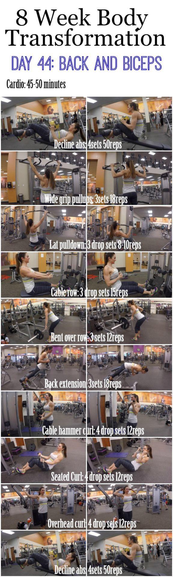 Gym & Entraînement : Kelsi.Sasser — 8 week body transformation Day 44 - Flashmode Belgium