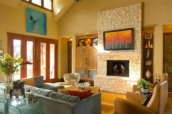 hill country modern hacienda chic interior design mexican design rh pinterest at