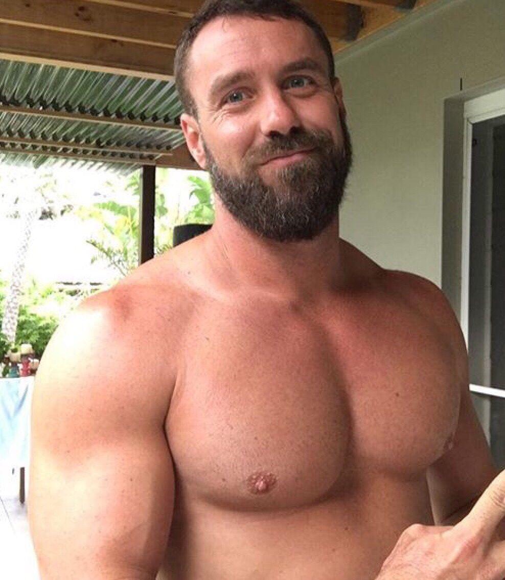 pinmarcin hordejuk on beardy beards | pinterest | muscle bear
