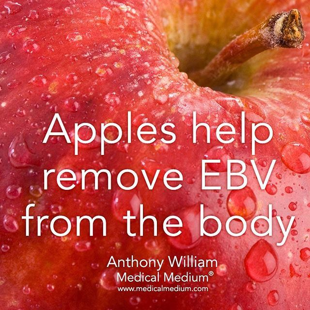 Apples help remove Epstein Barr Virus (EBV) from the body Learn more