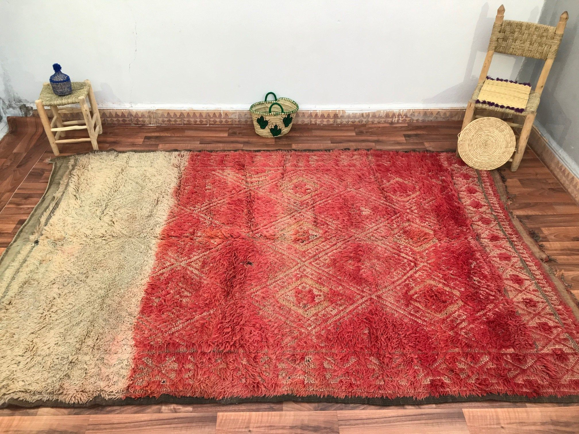 Wonderful Moroccan Berber Handmade Artizanal 6 56ft10ft Etsy In 2020 Boho Rug Durable Carpet Authentic Rugs