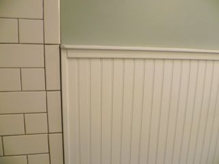 Remodeling Bathroom With Beadboard transitiontilebeadboard1 - discussion | kids bath | pinterest