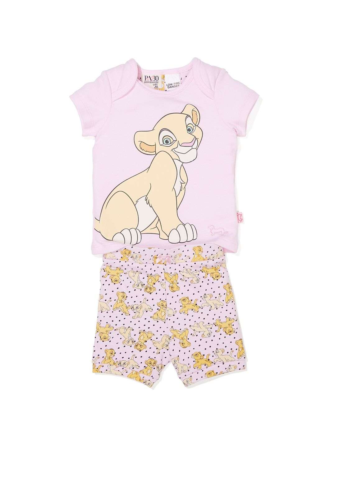 Disney The Lion King Toddler 2-Piece Pajama Set