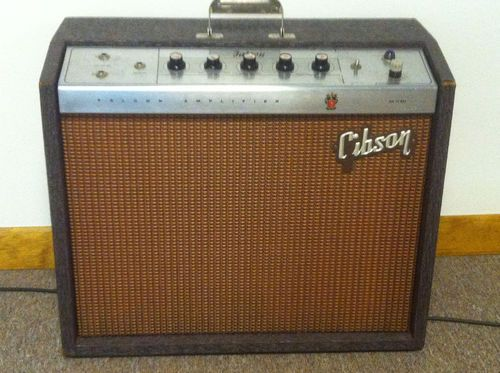 1963Gibson Falcon GA 19 RVT Guitar Amp Guitar amp
