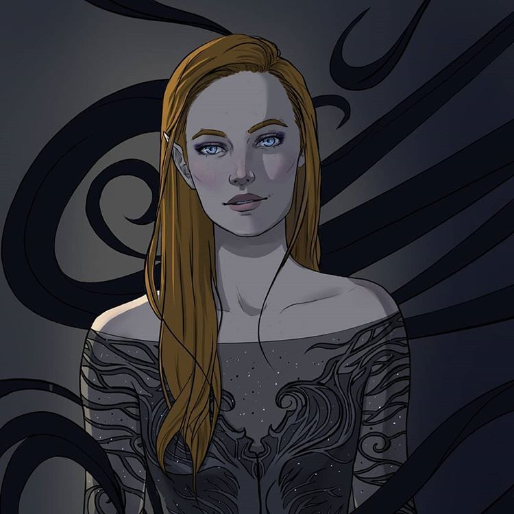 Feyre By Megiprs With Images A Court Of Mist And Fury A Court