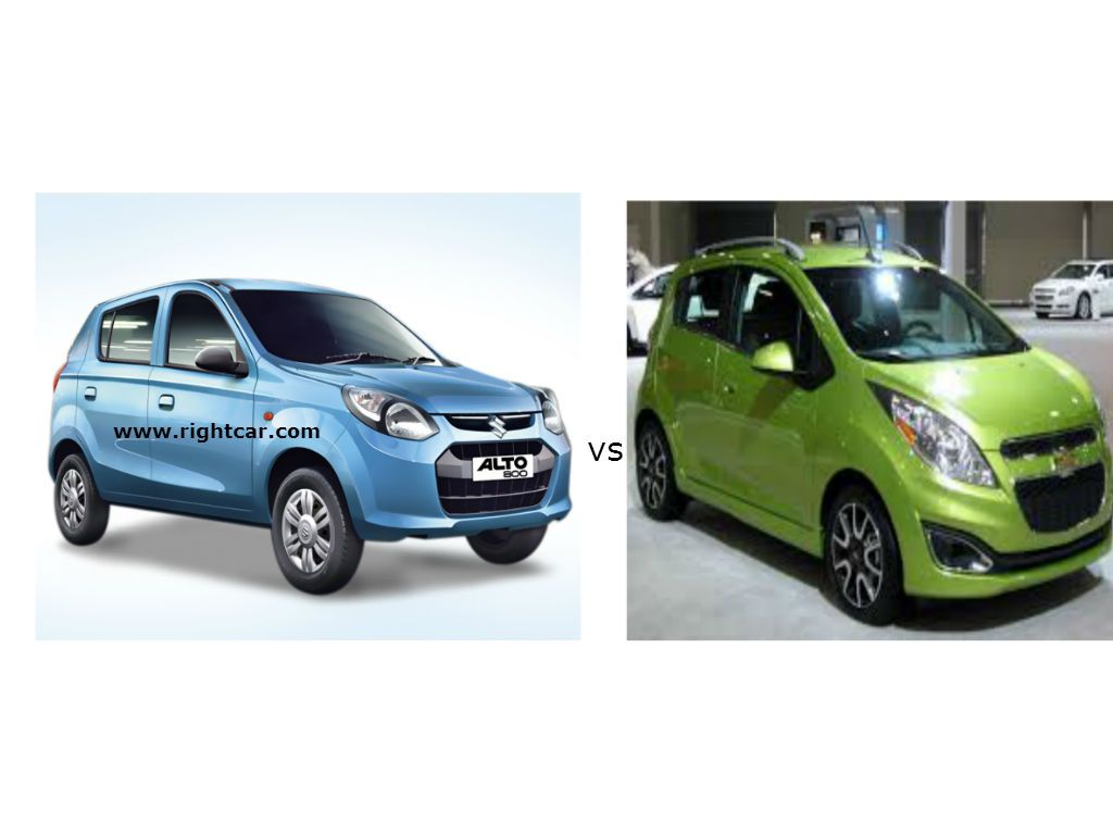 Maruti Alto 800 Vs Chevrolet Spark Compare Maruti Alto 800 With