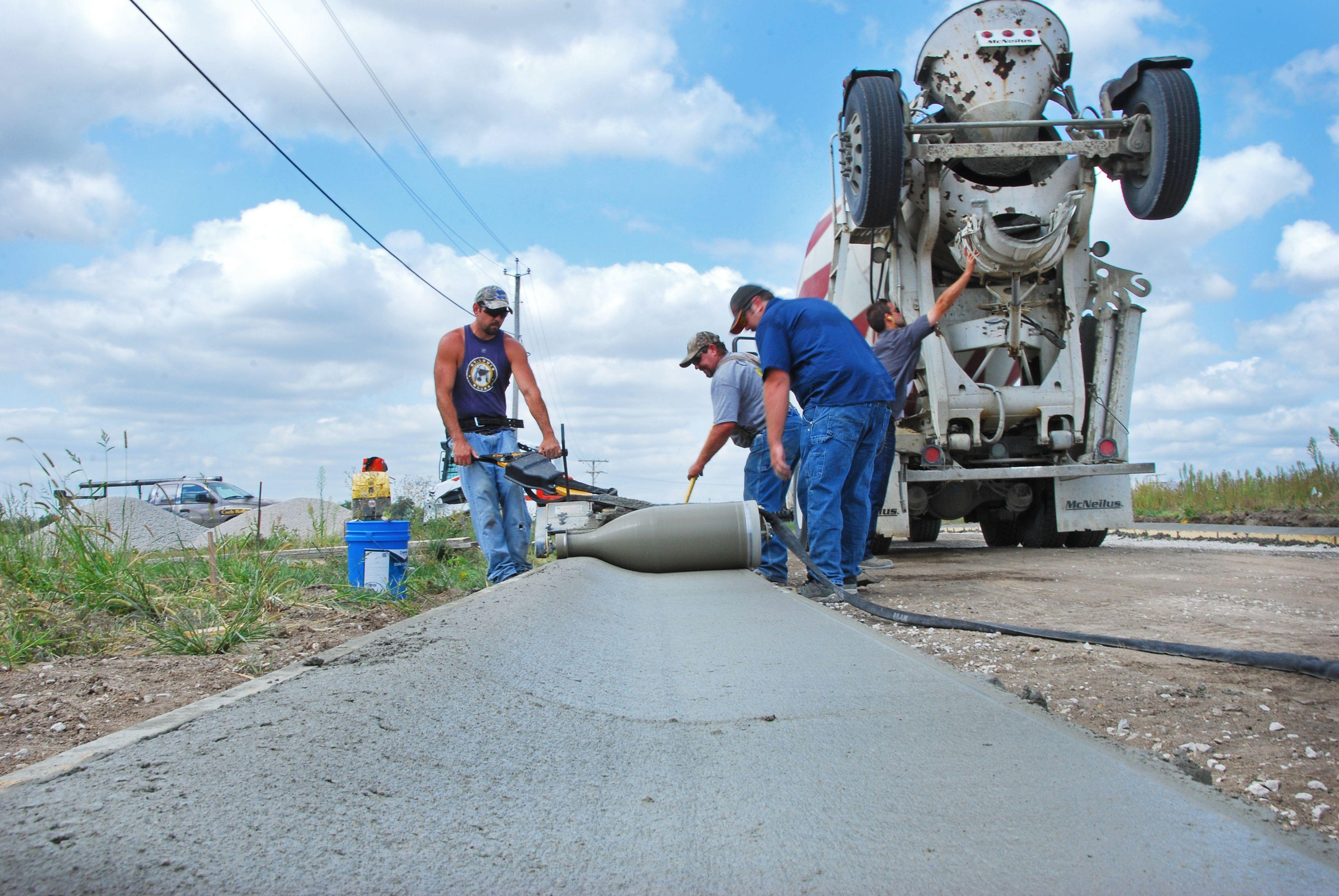 Curb Roller Cm4000 Roller Curbing Concrete Edging