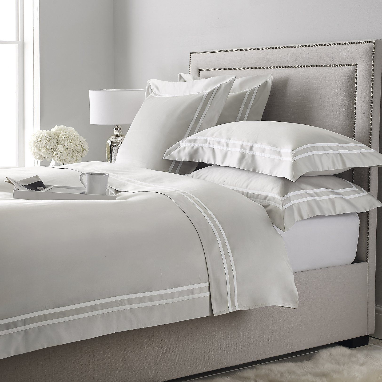 Bedroom from The White Company whitebedroomwardrobessale