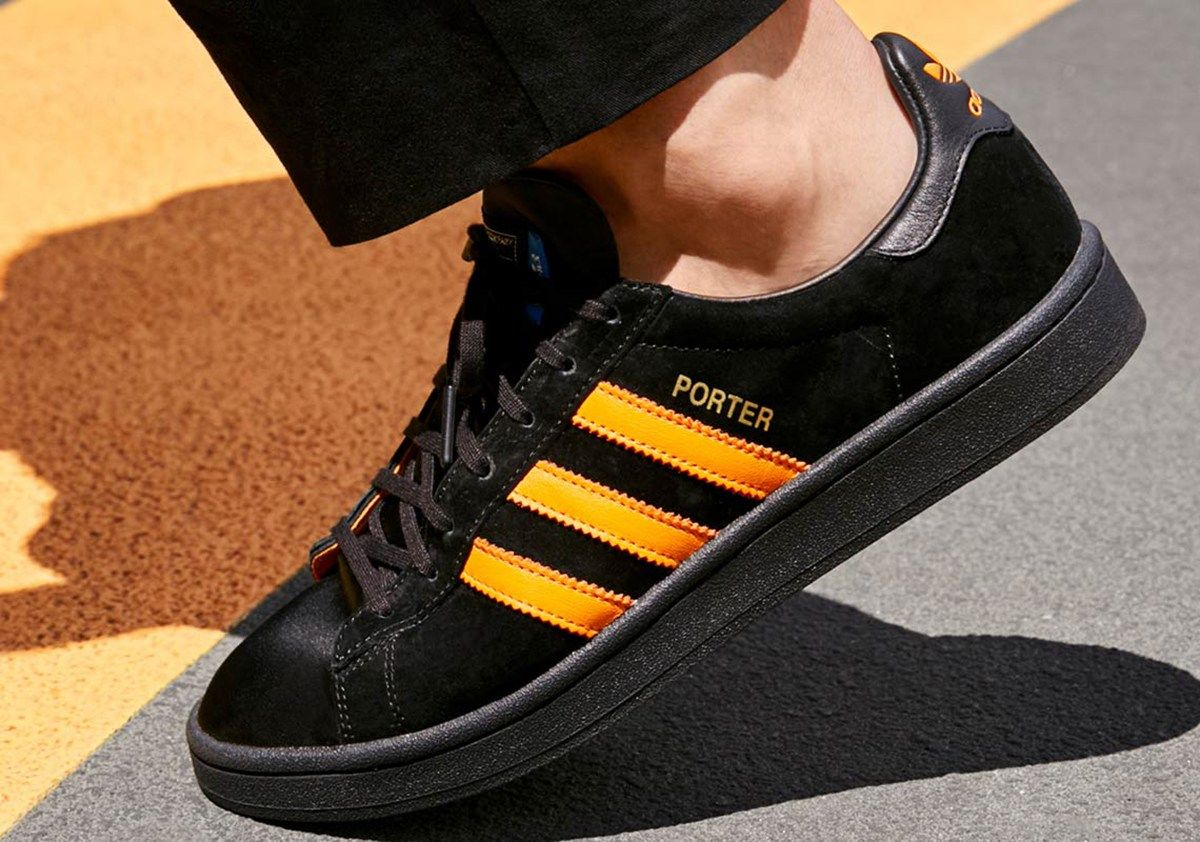 info for ac6db 9a3f1 Porter x adidas Campus for SpringSummer 2018 - EU Kicks Sneaker Magazine