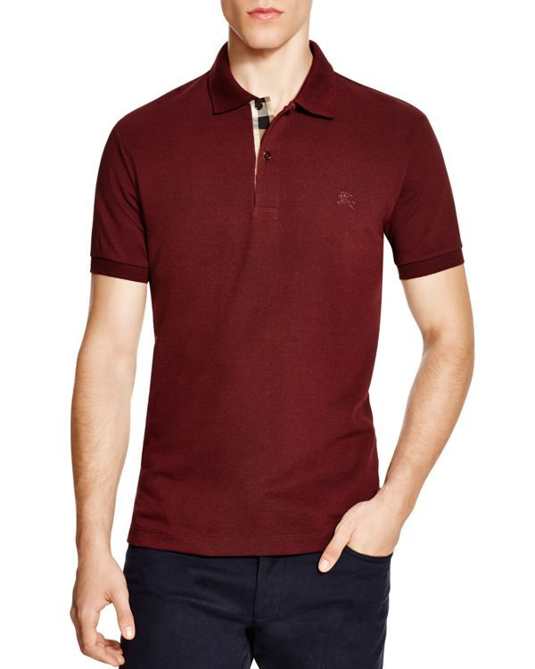 a3727415ae10 Burberry Brit Short Sleeve Slim Fit Polo   Products