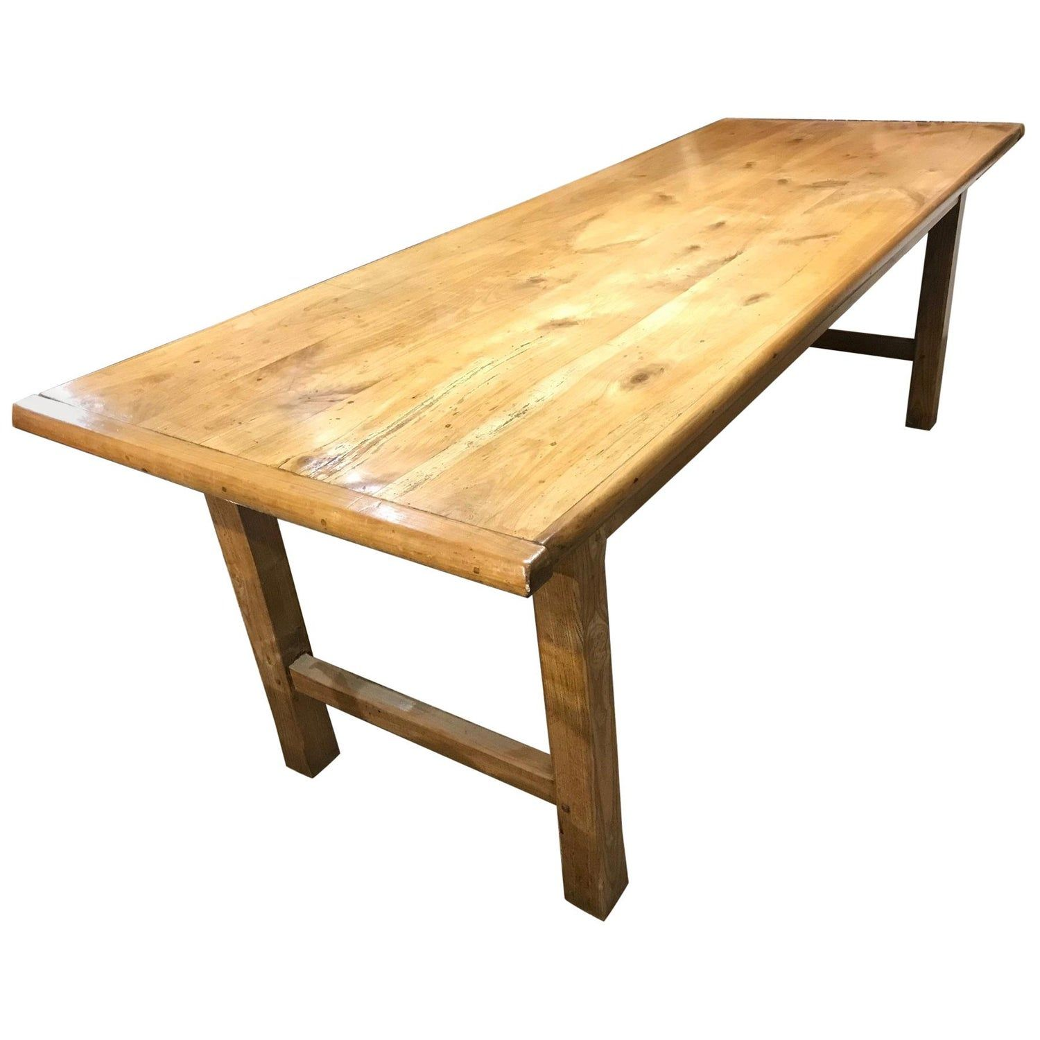 Antique Cherry Farmhouse Table With H Stretcher Modern Farmhouse Table Farmhouse Table Antique Dining Tables