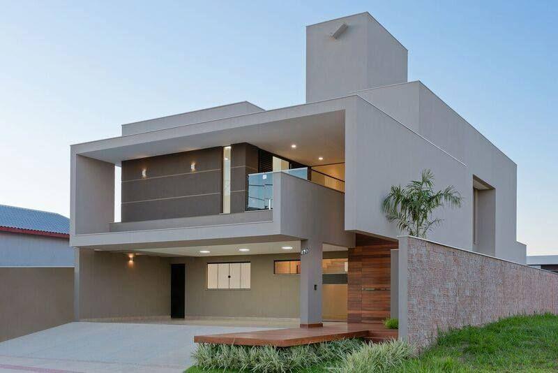 Pin de marisa haddad em fachadas pinterest casas for Fachadas contemporaneas
