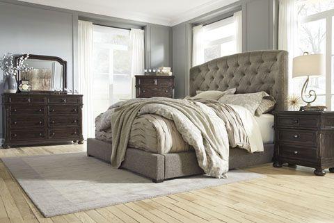 Merveilleux Ashley Furniture B657 Gerlane Padded Headboard Bedroom Set