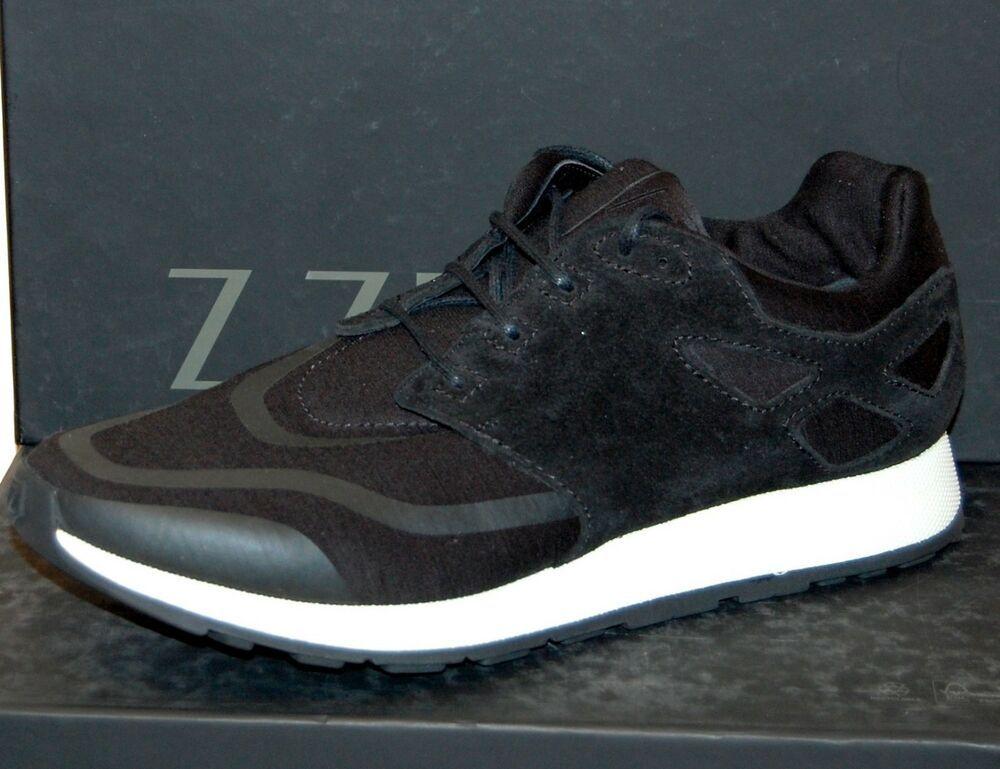 95a6a0fae4 Z ZEGNA Mens Black Boost High Top Sneakers Shoes -Sz US 11.5 EU 10.5 ...