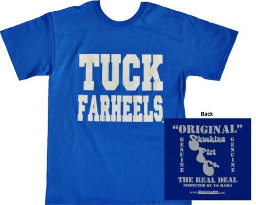 d4b1d92ca96  19.99 Free Shipping DUKE - college apparel - Tuck Farheels (Royal ) - Spring  Apparel