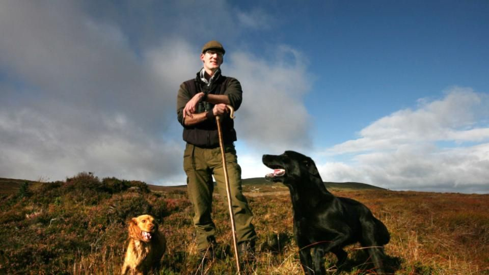 Irish lives: Guarding the red grouse on Boleybrack mountain. In 2007, just four pairs of the birds were left on the mountain, now 98 have been recorded