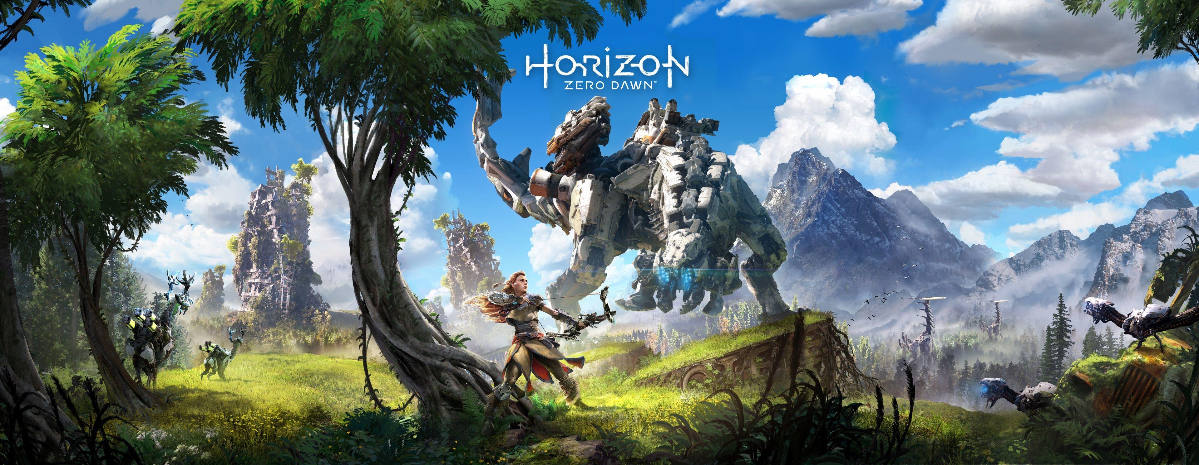 3840x1492 Horizon Zero Dawn 4k Wallpaper Free Download Horizon Zero Dawn Wallpaper Gaming Wallpapers Digital Wallpaper
