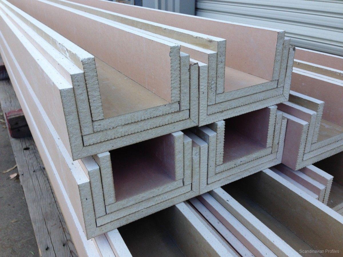 Plasterboard Profiles Bulkheads Prefolds Scandinavian Profiles Machining Fabricating Building Products Gips Haus