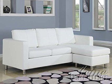 2 pc Kemen collection white leather like vinyl reversible ...