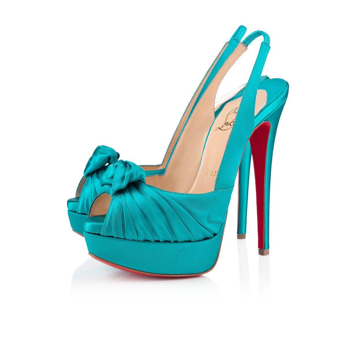 zapatos azules christian louboutin
