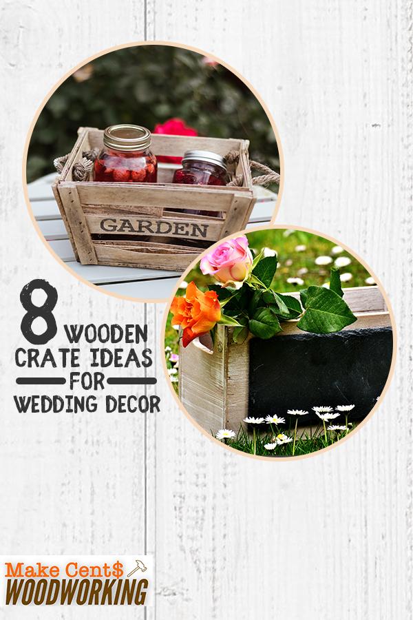 Photo of 8 Holzkisten Ideen für Hochzeitsdekoration – Holzkisten sind beliebte Dekoration …