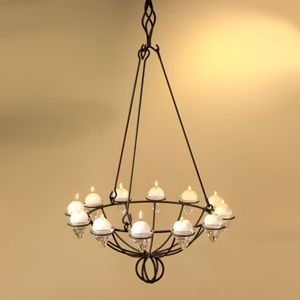 12 Hanging Candle Chandeliers You Can Buy Or Diy Candle Chandelier Diy Hanging Candle Chandelier Home Decor