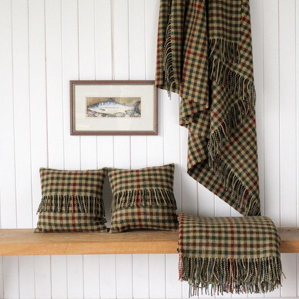 Morven Tweed throw and cushion | For the Home | Throw ...