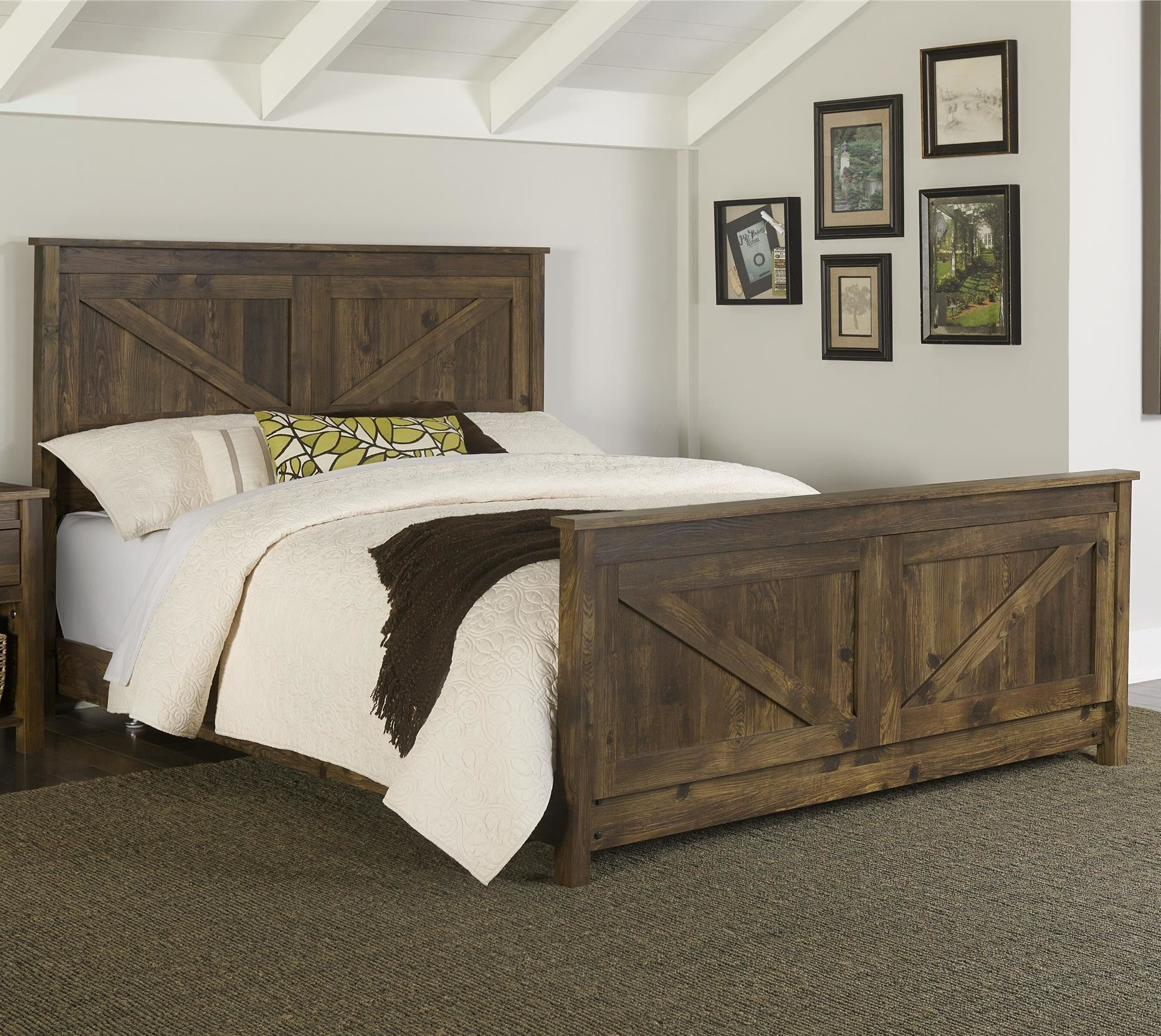 Farmington Queen Panel Bed | The house | Pinterest | Beds online ...