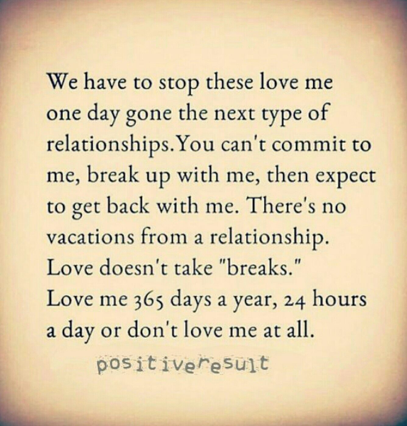 when to take a break in a relationship