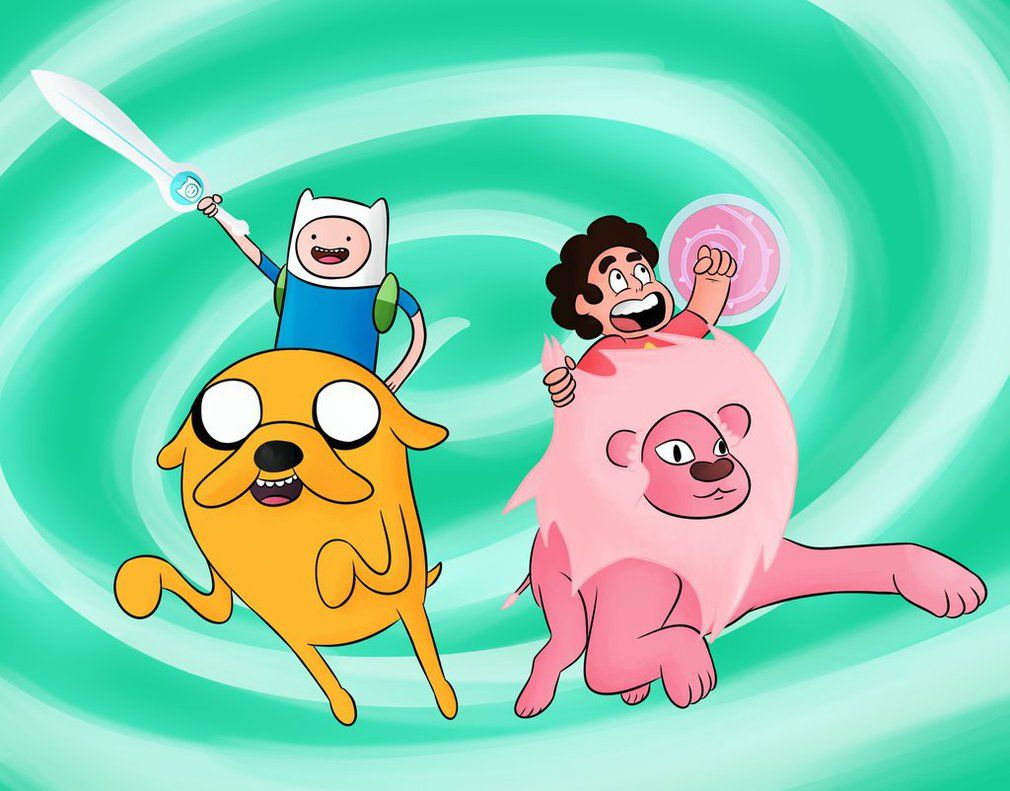Adventure Time x Steven Universe by Pandapool on DeviantArt   Steven  universe, Adventure time crossover, Adventure time