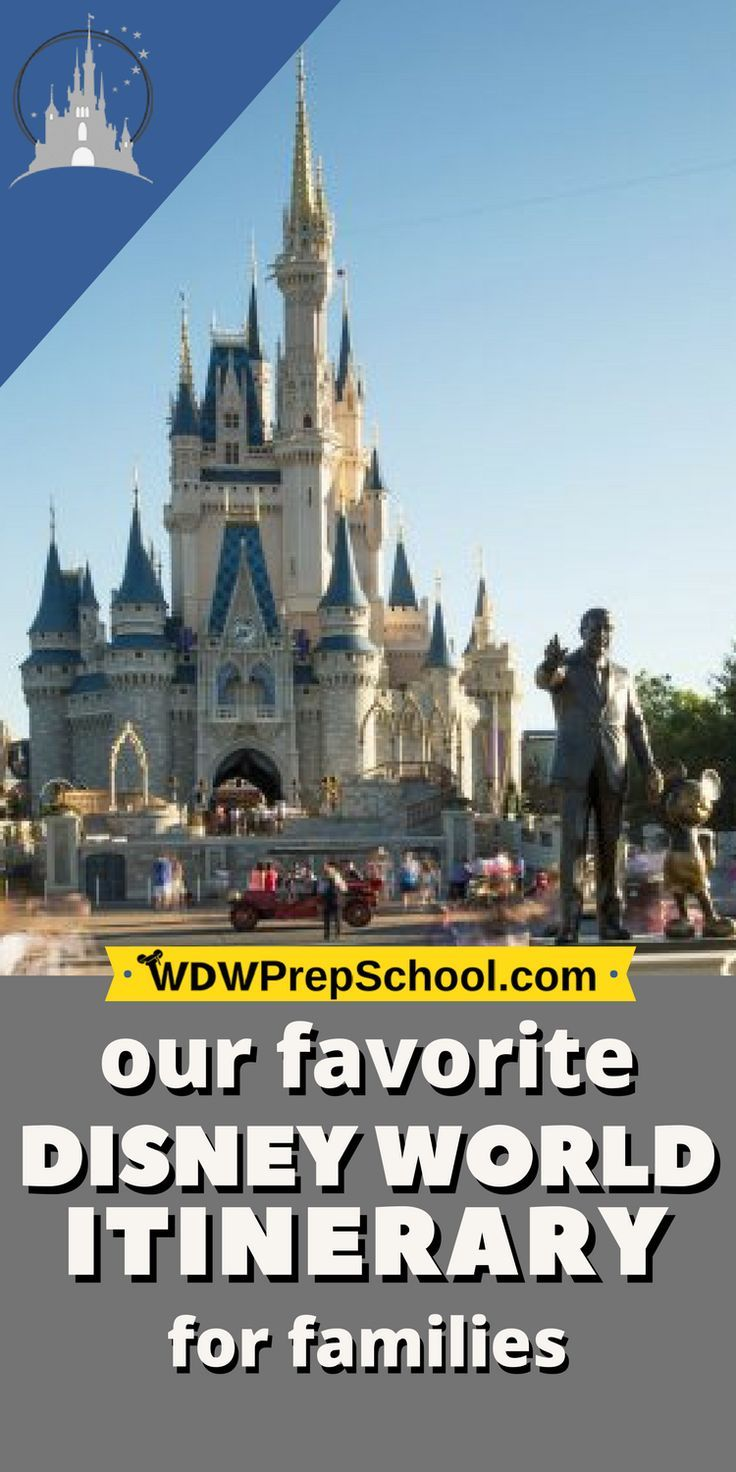 Best 8-day Disney World itinerary for families (resort ...