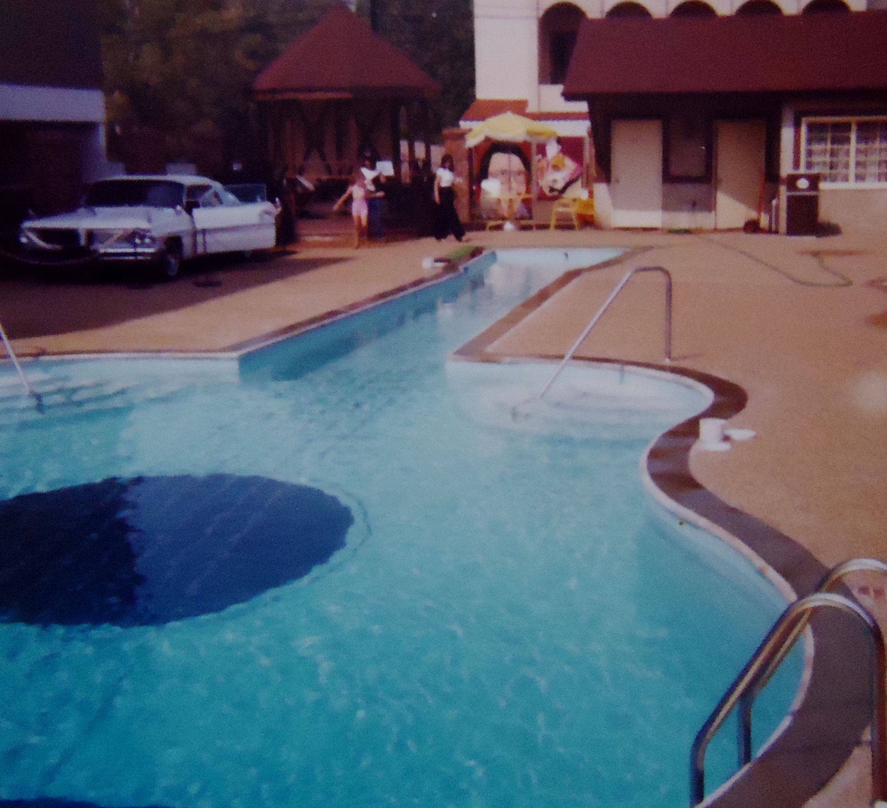 1979 Guitar Shaped Pool In Nashville Tennessee My Name Was Put