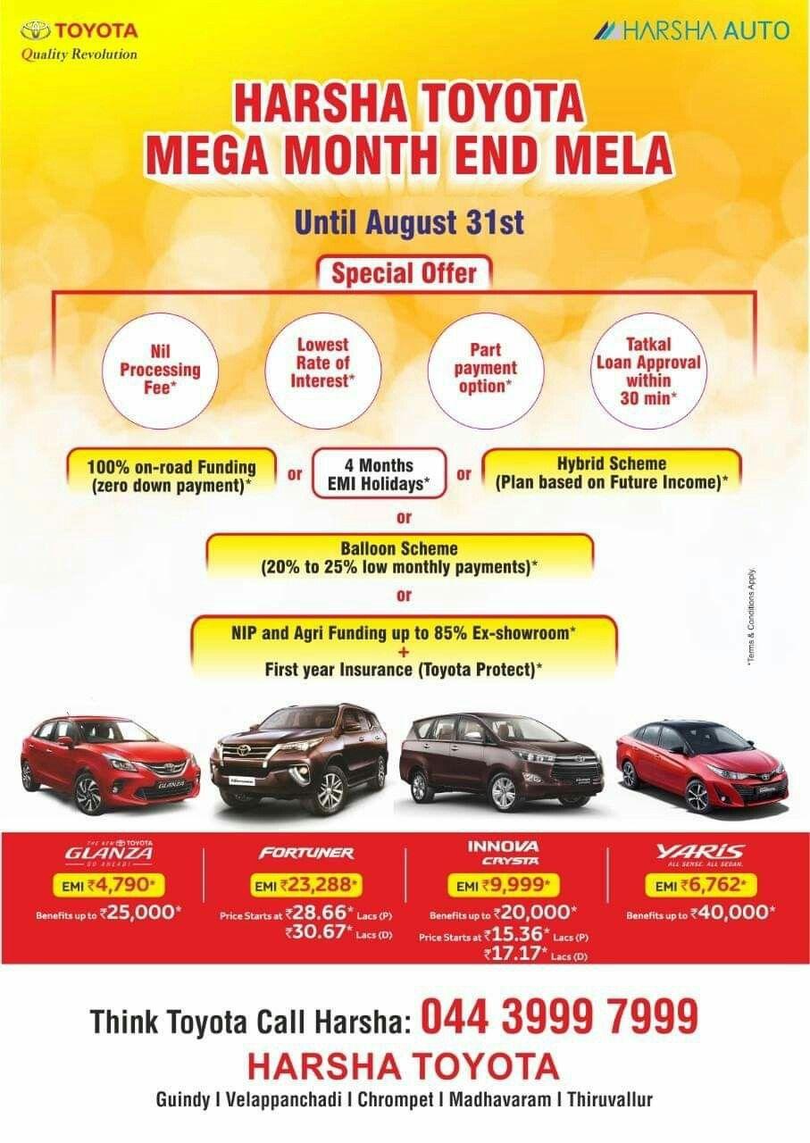 Dear Customer Toyota Finance Loan Approval In 30 Min Attractive Interest Rate Zero Down Payment Processing Fee Finance Loans Down Payment Payment Processing
